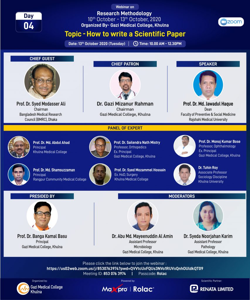 Workshop on Research Methodology
